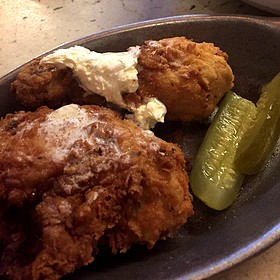 buttermilk fried chicken - The Greenhouse Tavern, Cleveland, OH