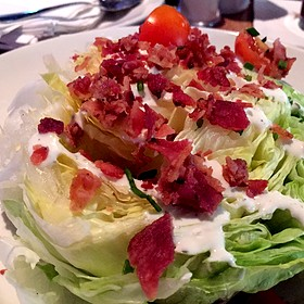 Wedge Salad - Wreckers at Gaylord Palms Resort, Kissimmee, FL