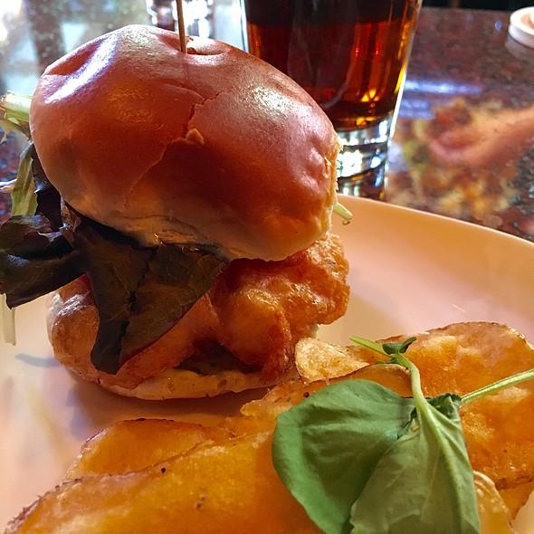 Beer-Battered Fish Slider - Gordon Biersch Brewery Restaurant - Midtown, Atlanta, GA