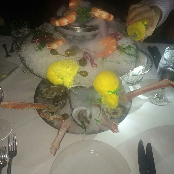 Seafood Tower Two Tiers - Mastro's Ocean Club - Scottsdale, Scottsdale, AZ