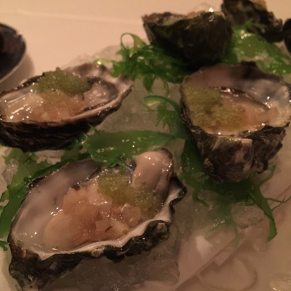 Kumamoto oysters - Alexander's Steakhouse - SF, San Francisco, CA