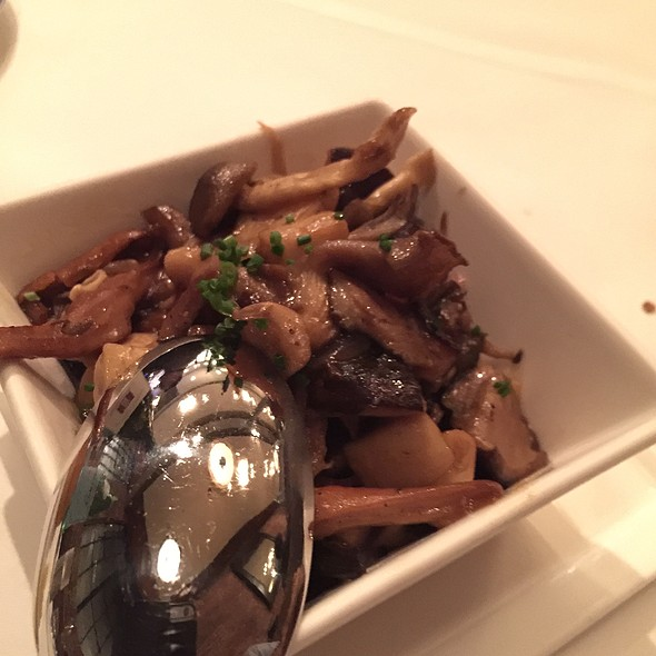 Wild Mushroom Side - Alexander's Steakhouse - SF, San Francisco, CA