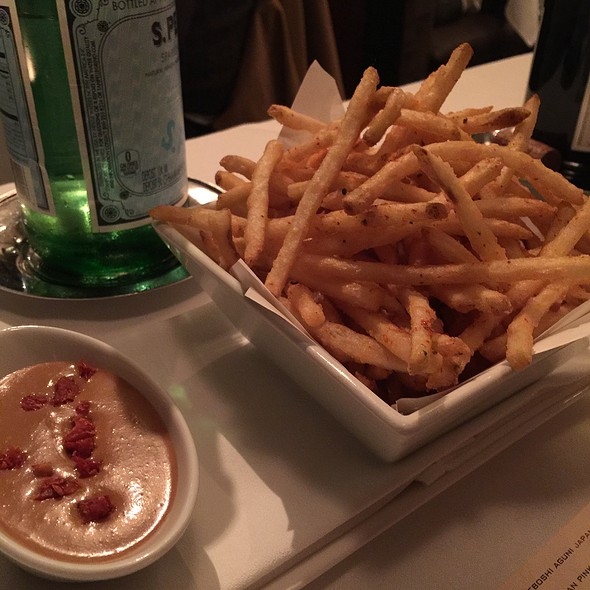 Shichimi Fries - Alexander's Steakhouse - SF, San Francisco, CA