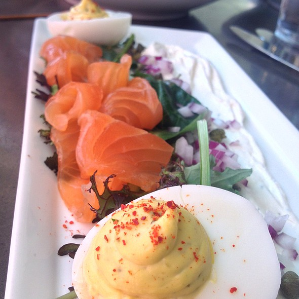 Eggs and Smoked Salmon - Ripple, Washington, DC