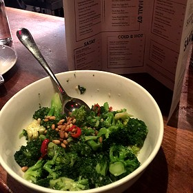 Steamed Broccoli - Sampan - Philadelphia, Philadelphia, PA
