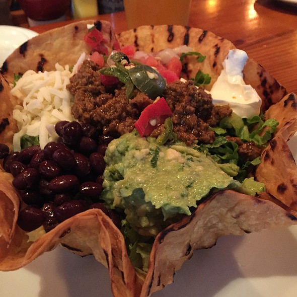 Taco Salad - Barlow's Restaurant, Boston, MA