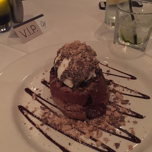 Hot Chocolate Lava Cake - Chart House Restaurant - Scottsdale, Scottsdale, AZ