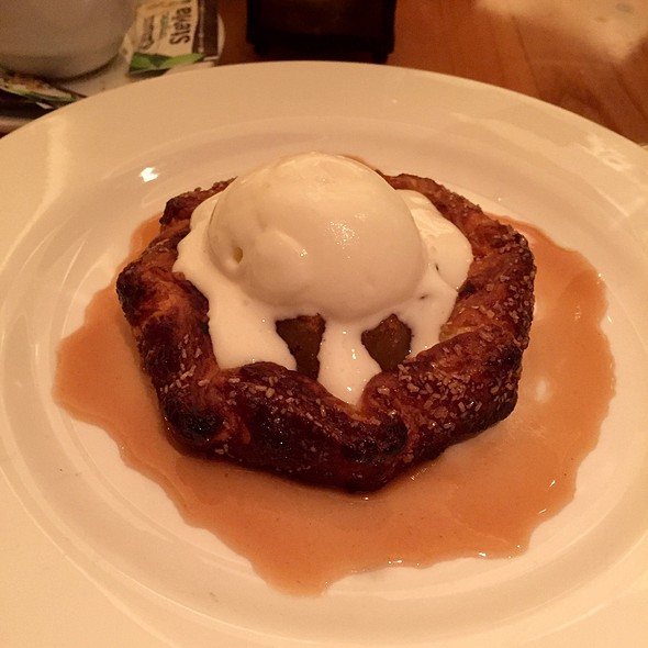 Apple tart - Lumiere, West Newton, MA