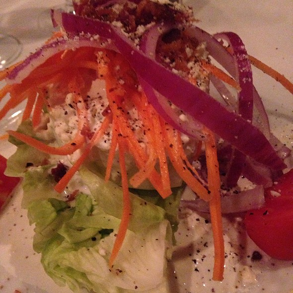 Wedge Salad w/ Blue Cheese - Bascom's Chop House, Clearwater, FL