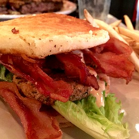 Fried Green Tomato BLT - Puckett's Historic Downtown Franklin, Franklin, TN