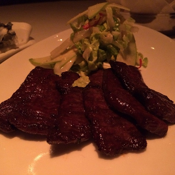 House Cured Beef Jerky  - Strip House - Las Vegas, Las Vegas, NV