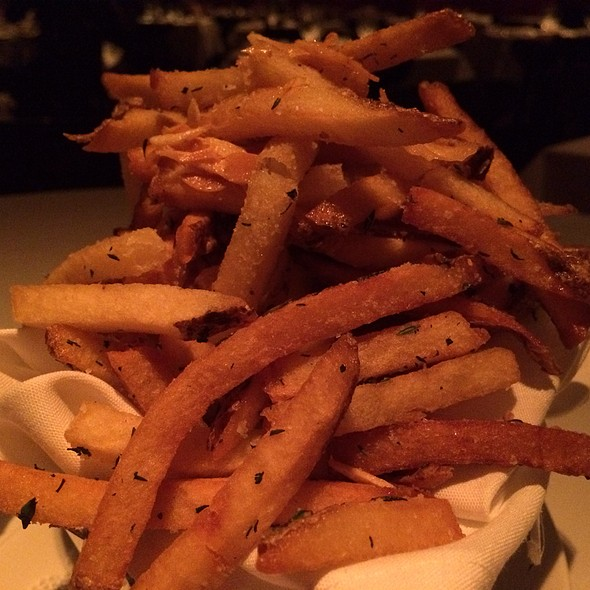 Garlic Herb French Fries - Strip House - Las Vegas, Las Vegas, NV