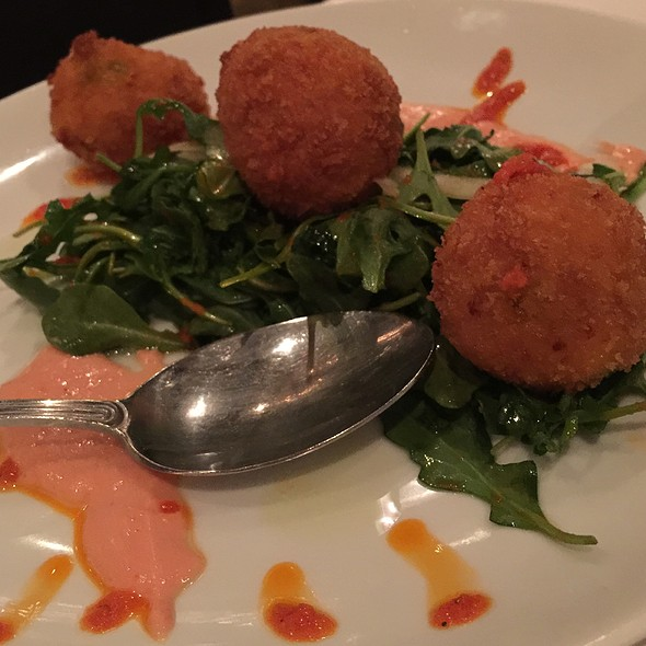 Lobster Risotto Balls - Carlucci Restaurant Downers Grove, Downers Grove, IL
