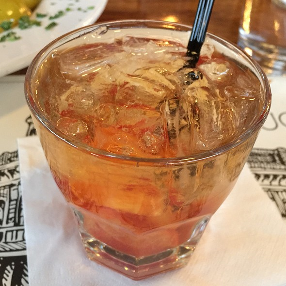 Winters Old Fashioned Cocktail - Buckhorn Steakhouse, Winters, CA