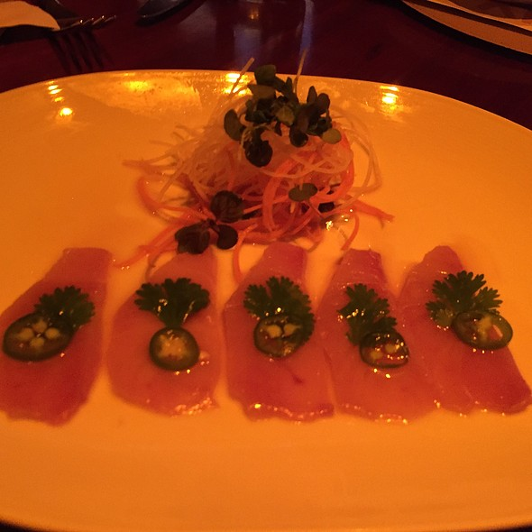 yellowtail sashimi - Fix - Bellagio, Las Vegas, NV
