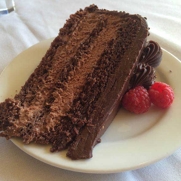 Chocolate Mousse Cake - Primo at the JW Marriott Starr Pass Resort & Spa, Tucson, AZ