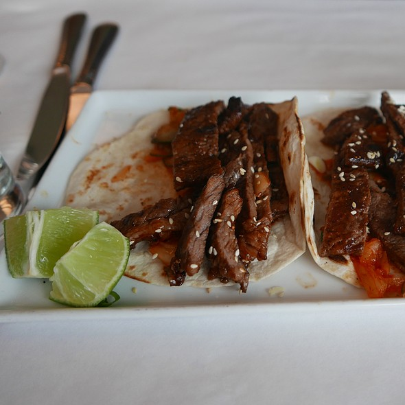 Korean Short Rib Tacos - Noah's, Greenport, NY