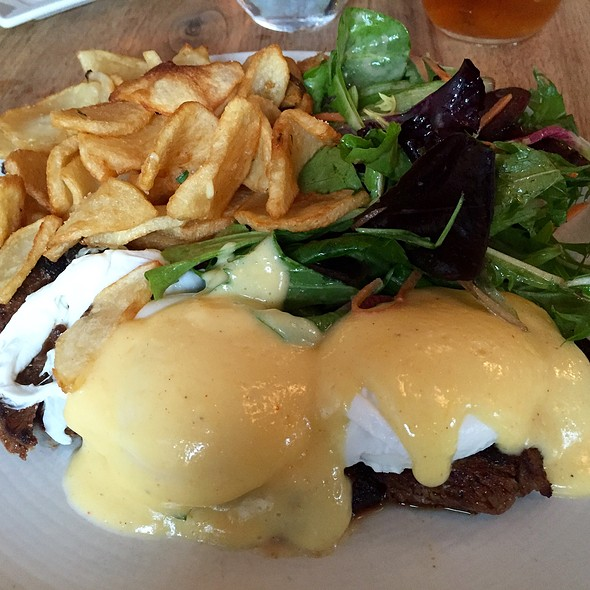 Steak Benedict - Fare Restaurant, Philadelphia, PA