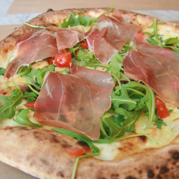 Bianca Pizza - Pizza Mezzaluna, New York, NY