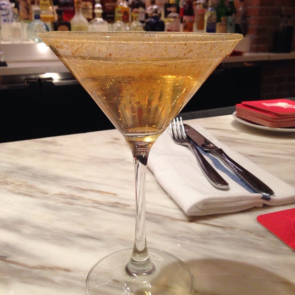 Spiced Pear Martini - D.O.C.G. Enoteca by Scott Conant, Las Vegas, NV
