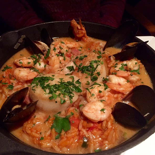 Jambalaya With Scallops, Shrimp, Andouille Sausage, And Mussels - Core Kitchen and Wine Bar at The Ritz-Carlton Dove Mountain, Marana, AZ
