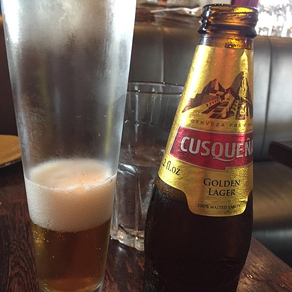 Cusqueña Beer - Wynwood Kitchen and Bar, Miami, FL