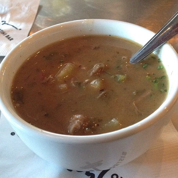 Caribbean Beef Soup - Twigs Bistro and Martini Bar - Spokane Valley Mall, Spokane Valley, WA
