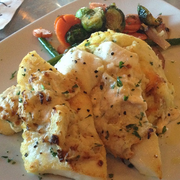 Crab Stuffed Halibut - Twigs Bistro and Martini Bar - Spokane Valley Mall, Spokane Valley, WA