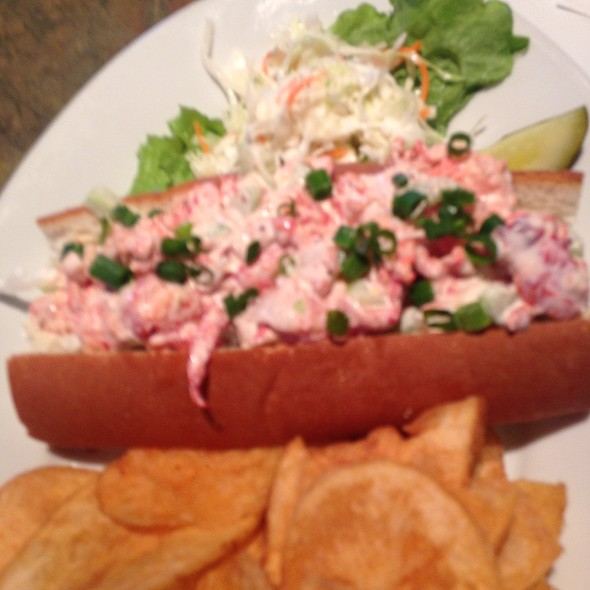 Lobster Roll (Sandwich) - Lombard's Seafood Grille, Orlando, FL