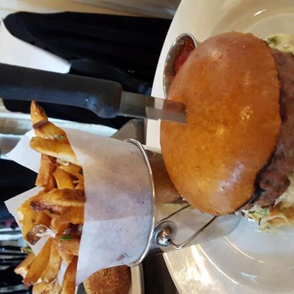 Pork Bacon Burger - White Dog Cafe - Wayne, Wayne, PA