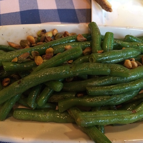 Sauteed Green Beans With Pistacio - Henry's Restaurant, New York, NY
