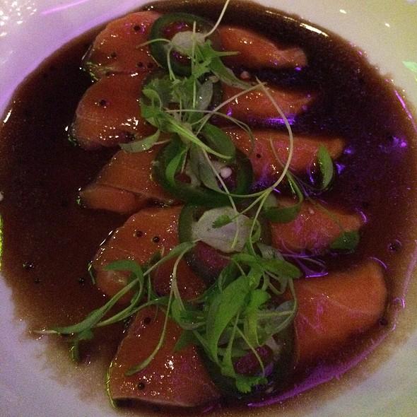 Salmon Jalapeño Sashimi - Asuka Sushi, New York, NY