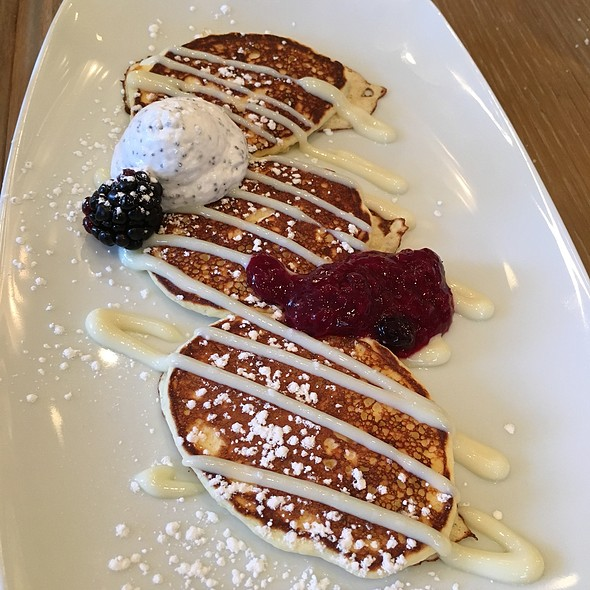 Lemon Ricotta Pancakes - Edge, Steak + Bar, Miami, FL