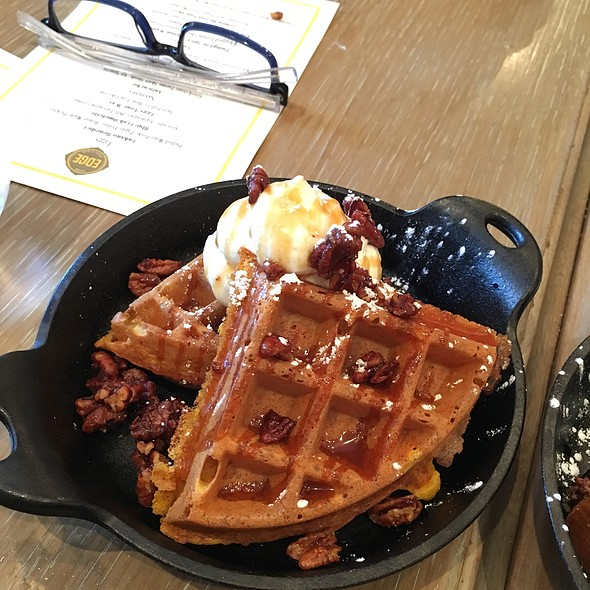 Waffles - Edge, Steak + Bar, Miami, FL
