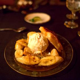 Bananas Foster - The Library Restaurant - Myrtle Beach, Myrtle Beach, SC