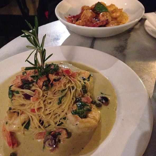 Shrimp Scampi - Neyla Mediterranean Bistro, Reston, VA