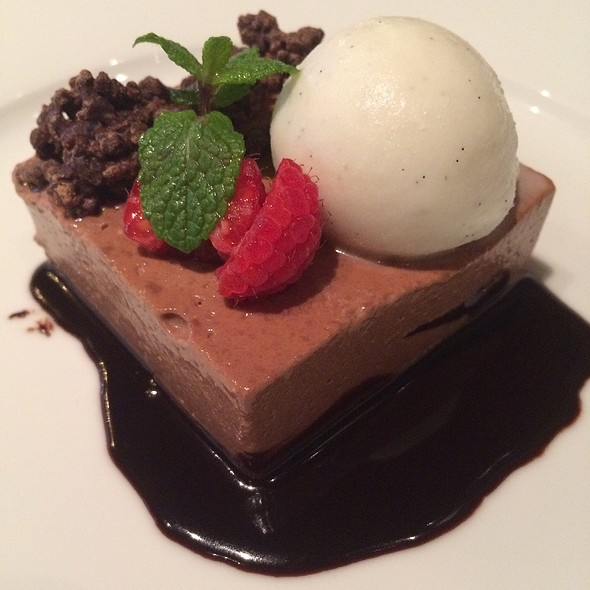 Dark Chocolate Cremeux - Restaurant Orsay, Jacksonville, FL