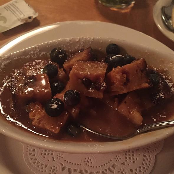 Mango Blueberry Breadpudding - Caffe Molise, Salt Lake City, UT