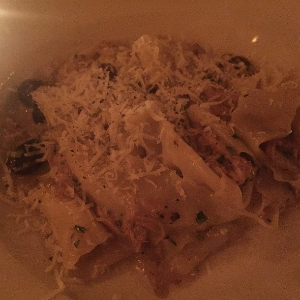 Fresh Pappardelle With Braised Rabbit - Lavagna, New York, NY