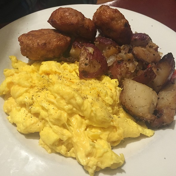 Eggs Scrambled With Breakfast Potatoes - Cupping Room Cafe, New York, NY