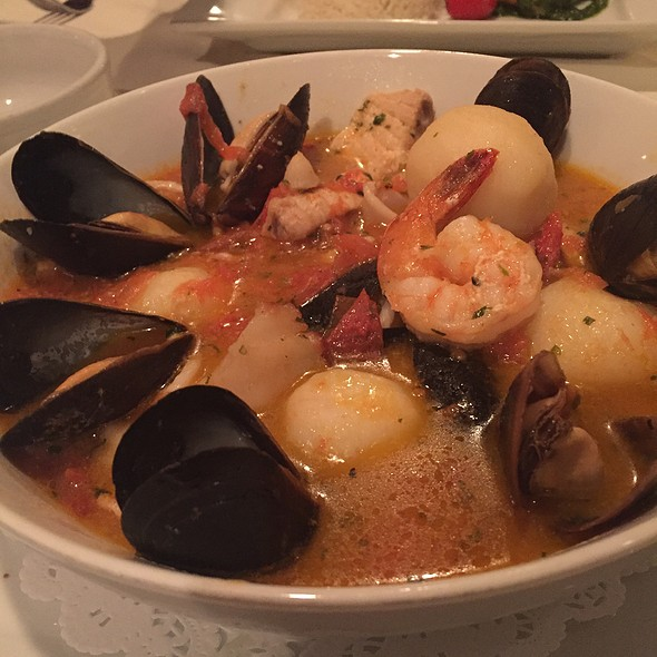 Mixed Seafood In Tomato Broth - La Petite Maison - Atlanta, Sandy Springs, GA