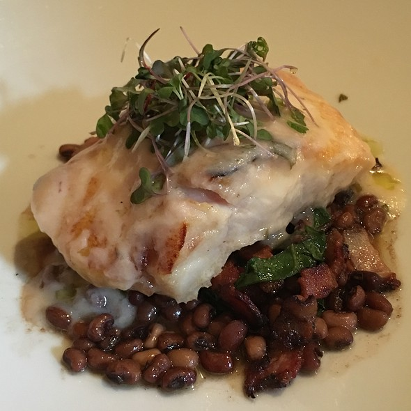 Halibut & Black Eyed Peas - Sociale, San Francisco, CA