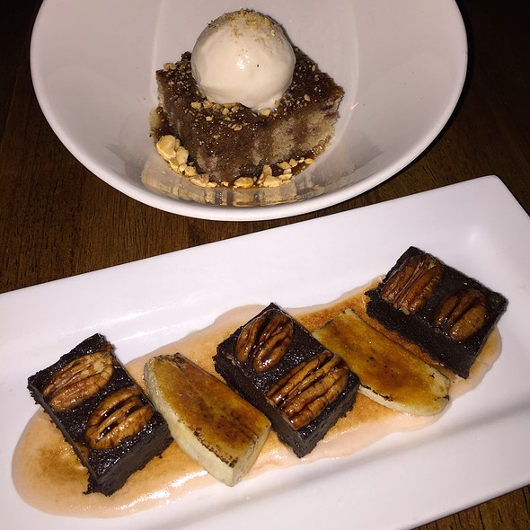 Sticky Toffee Pudding And Nola Mud Pie - Vedge, Philadelphia, PA