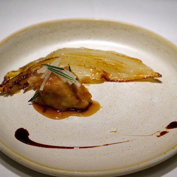 Veal sweetbread, caramelzied Belgium endive, d'anjou pear - TRU, Chicago, IL
