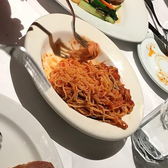 angel hair pasta pomodoro - Sapore Italiano, Burlingame, CA