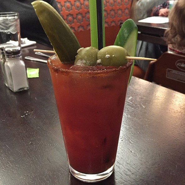 Bloody Mary - Stephanie's On Newbury, Boston, MA