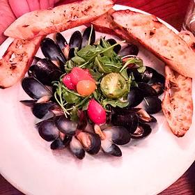 Steamed Mussels - Mangiamo! Grand Rapids, Grand Rapids, MI