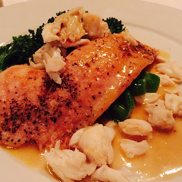Sheepshead With Lump Crab And Broccolini - Ruffino's, Baton Rouge, LA