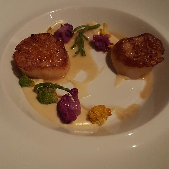 Scallop - Patina Restaurant, Los Angeles, CA