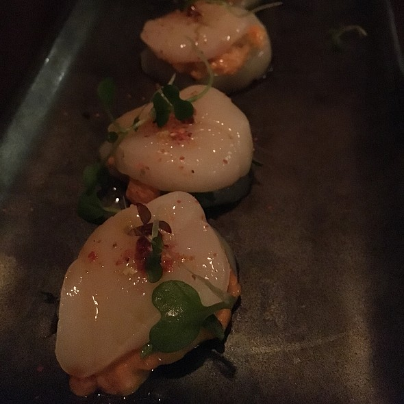 Scallop Uni Hotate - Chotto, San Francisco, CA
